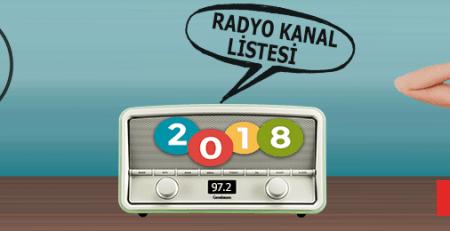 2018 Radyo Kanal Frekans Listesi