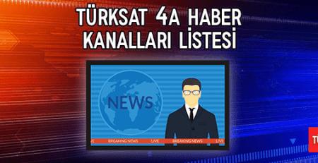 2019 Türksat 4A Haber Kanalları Listesi