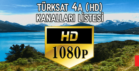 2019 Türksat 4A HD Kanal Listesi