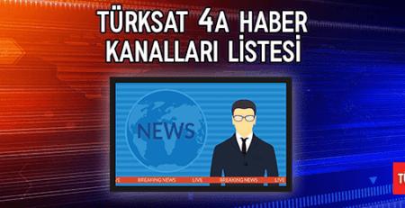 2020 Türksat 4A Haber Kanalları Listesi