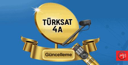 2021 Turksat 4A Uydusu Otomatik Şebeke Arama Frekansları