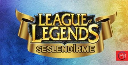 League of Legends Turkish Dubbing Vocalization 2019