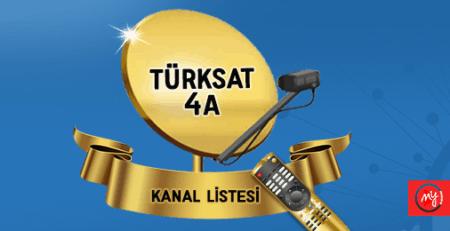 Türksat 4A Uydusu Guncel Kanal Listesi 2020